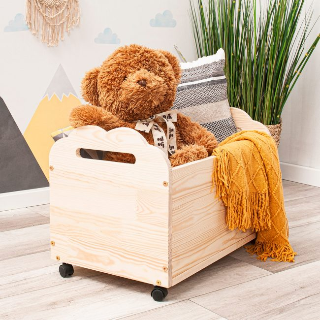 Rolling toy box Orao